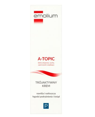 EMOLIUM A-TOPIC Krem trójaktywny - 50 ml