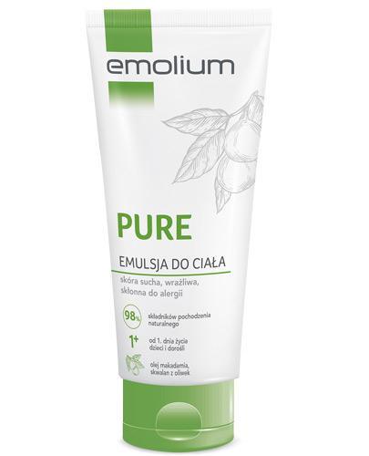 Emolium Pure emulsja do ciała - 200 ml - cena, opinie, właściwości  - Drogeria Melissa