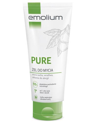 Emolium Pure żel do mycia - 200 ml - cena, opinie, właściwości  - Apteka internetowa Melissa