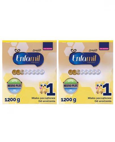 ENFAMIL 1 PREMIUM LIPIL 0-6 mcy Mleko modyfikowane - 2x1200 g