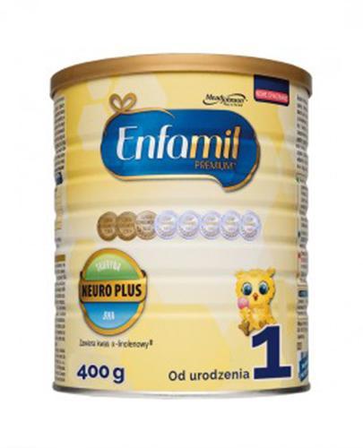 ENFAMIL 1 PREMIUM LIPIL 0-6 mcy Mleko modyfikowane - 400 g