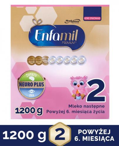 Enfamil 2 Premium Lipil 6-12 miesięcy Mleko modyfikowane - Apteka internetowa Melissa