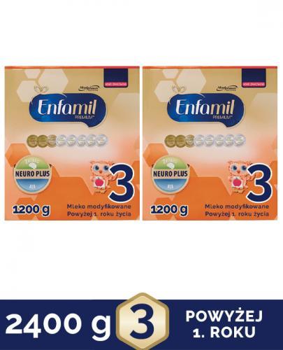 ENFAMIL 3 PREMIUM powyżej 1 roku Mleko modyfikowane - 2x1200g