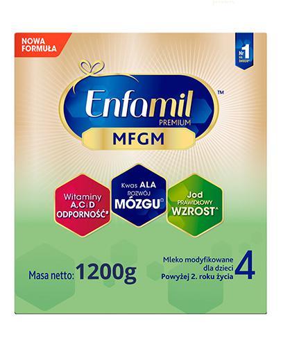 Enfamil 4 Premium MFGM powyżej 2 roku życia Mleko modyfikowane - 1200 g - cena, opinie, skład  - Apteka internetowa Melissa