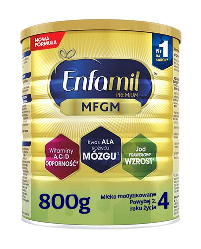 Enfamil 4 Premium MFGM powyżej 2 roku życia Mleko modyfikowane - 800 g - cena, opinie, właściwości  - Apteka internetowa Melissa
