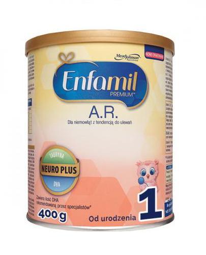 Enfamil AR 1 Mleko początkowe dla niemowląt z tendencją do ulewania - Apteka internetowa Melissa