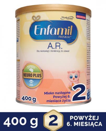 Enfamil AR 2 Mleko następne dla niemowląt z tendencją do ulewania - Apteka internetowa Melissa