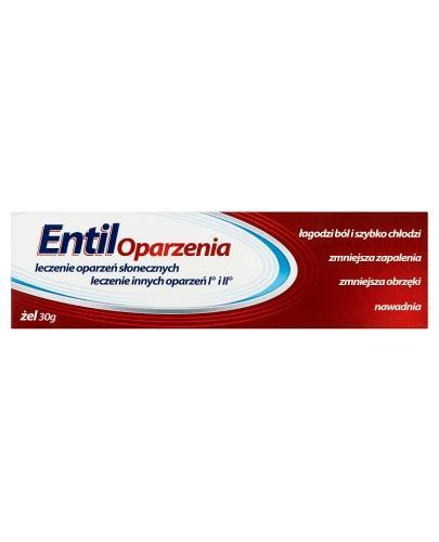 ENTIL OPARZENIA Żel - 30 g - Drogeria Melissa