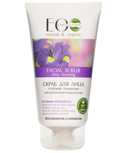 ECO LAB Głęboko oczyszczający scrub do twarzy - 150 ml