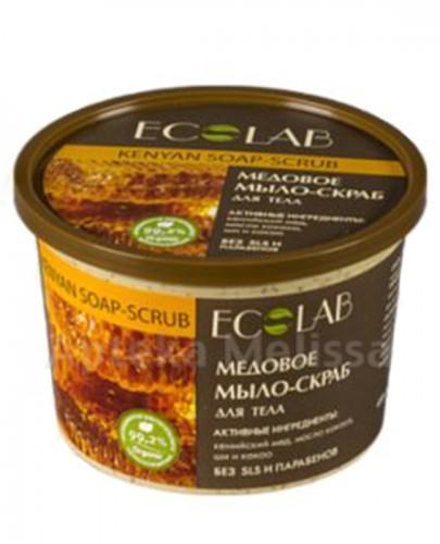 ECO LAB Kenińskie masło miodowe scrub do ciała - 450 ml - Apteka internetowa Melissa