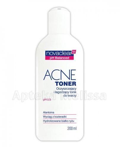 NOVACLEAR ACNE TONER Oczyszczający i łagodzący tonik do twarzy - 200 ml - Apteka internetowa Melissa