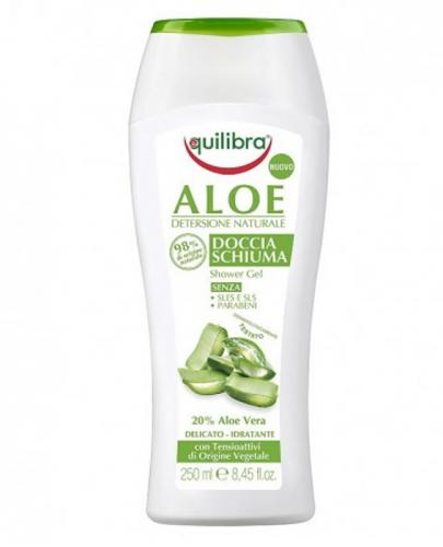 EQUILIBRA Aloesowy kremowy żel pod prysznic - 250 ml - Apteka internetowa Melissa