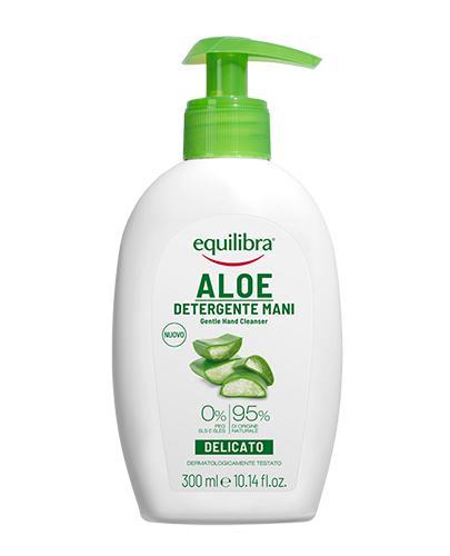 EQUILIBRA Aloesowy żel oczyszczający do twarzy i rąk - 300 ml - do higieny skóry twarzy i rąk - cena - Apteka internetowa Melissa