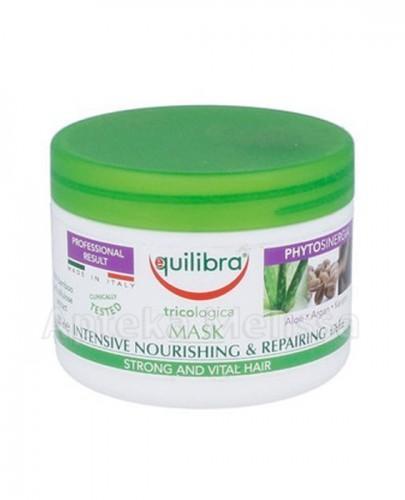 EQUILIBRA Maska do włosów intensywnie odżywiająca i regenerująca - 200 ml