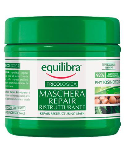 Equilibra Tricologica Naprawcza maska restrukturyzująca  - 250 ml - cena, opinie, właściwości  - Apteka internetowa Melissa