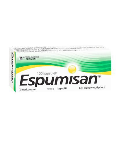 ESPUMISAN - 100 kaps. - Apteka internetowa Melissa