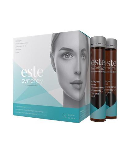 ESTE SYNERGY - 14 x 25 ml Na piękną i gładką skórę - cena, opinie, wskazania  - Drogeria Melissa