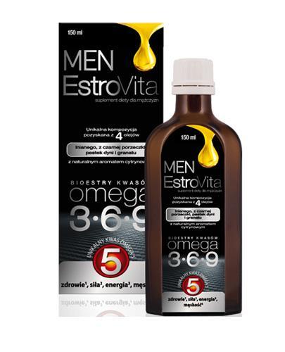 ESTROVITA MEN - 150 ml - cena, opinie, wskazania