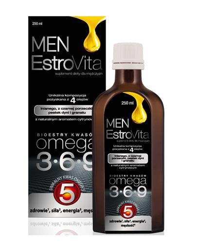 ESTROVITA MEN - 250 ml - cena, opinie, właściwości  - Apteka internetowa Melissa