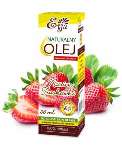 ETJA Naturalny olej z nasion truskawki - 50 ml - Apteka internetowa Melissa