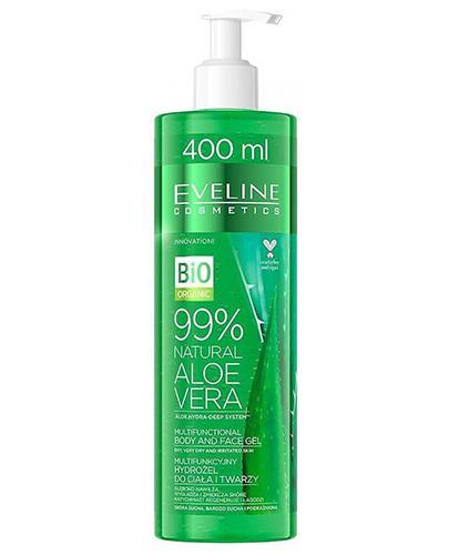Eveline Cosmetics 99% Natural Aloe vera Multifunkcyjny żel do ciała i twarzy - 400 ml - cena, opinie, skład  - Apteka internetowa Melissa