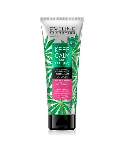 Eveline Keep Calm And Feel Bio Intensywnie regenerujący biobalsam do ciała - 250 ml - cena, opinie, właściwości