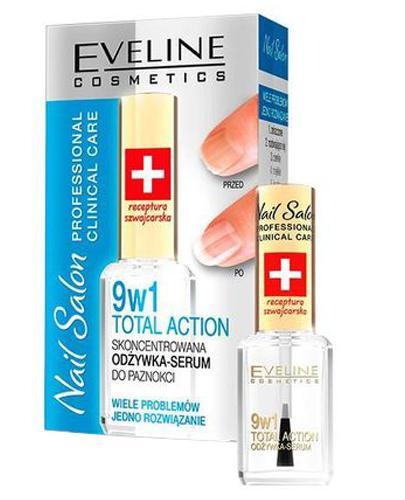 Eveline Cosmetics 9w1 Skoncentrowana odżywka - serum do paznokci - 12 ml - cena, opinie, skład - Drogeria Melissa