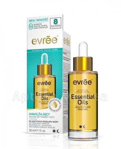 EVREE Nawilżający olejek do twarzy i szyi - 30 ml