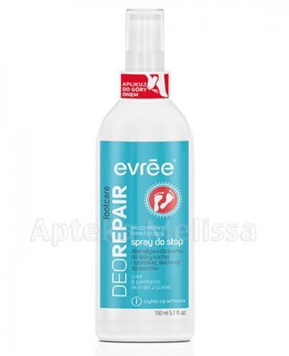 EVREE DEO REPAIR Spray do stóp do skóry suchej i szorstkiej, skłonnej do pocenia - 150 ml  - Apteka internetowa Melissa