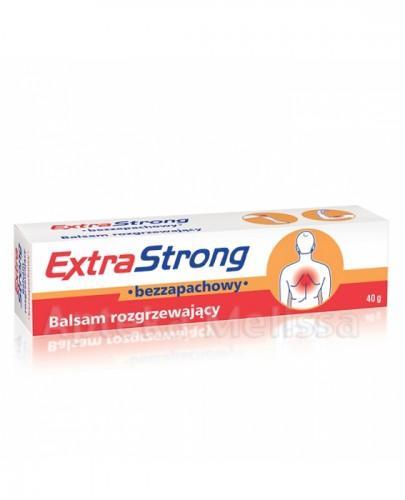 EXTRASTRONG Balsam rozgrzewający bezzapachowy - 40 g
