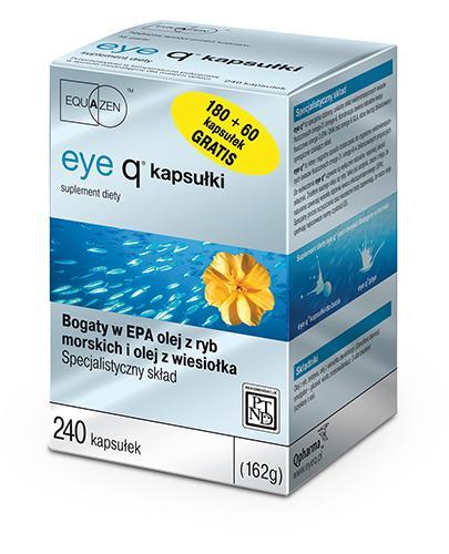 EYE Q - 180 kaps. + 60 kaps.  - Drogeria Melissa