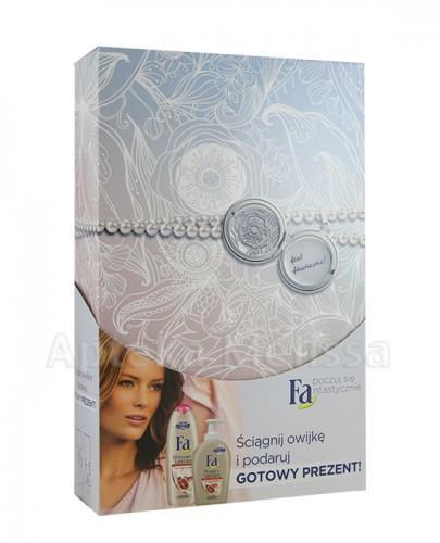 FA SHOWER+LOTION POMAGRANATE Żel pod prysznic - 250 ml + Mydło w płynie - 300 ml  - Apteka internetowa Melissa