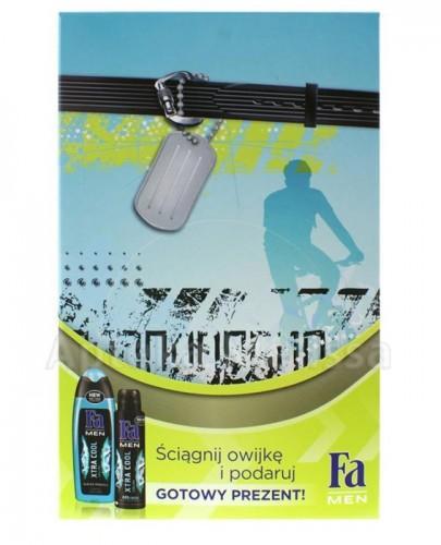 FA MEN Xtra cool żel pod prysznic - 250 ml + Dezodorant - 150 ml  - Apteka internetowa Melissa