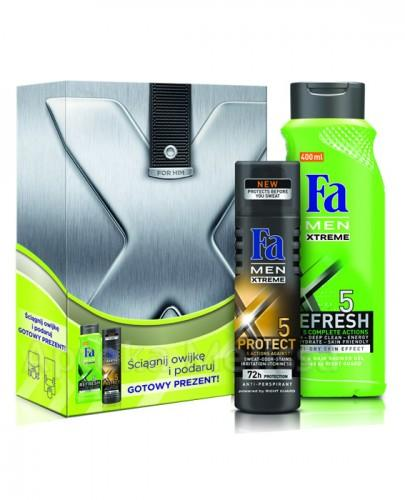 FA MEN REFRESH Żel pod prysznic - 400 ml + Antyperspirant - 150 ml  - Apteka internetowa Melissa