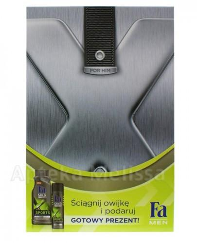 FA MEN SPORTS Żel pod prysznic - 400 ml + Antyperspirant - 150 ml