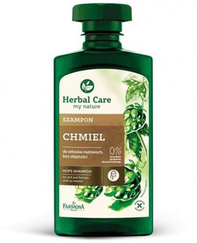 FARMONA HERBAL CARE Szampon z chmielem do włosów matowych - 330 ml - Apteka internetowa Melissa