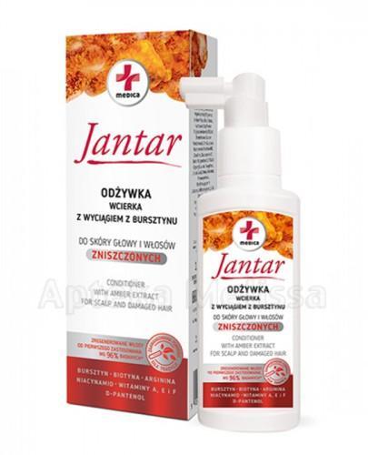 MEDICA JANTAR Odżywka wcierka z wyciągiem z bursztynu do włosów zniszczonych - 100 ml - Apteka internetowa Melissa