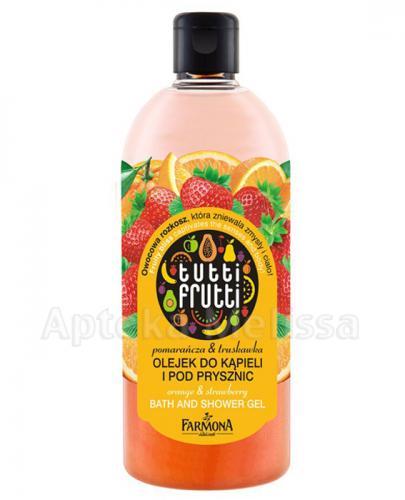 Farmona Tutti Frutti Olejek Do Kąpieli I Pod Prysznic Pomarańcza