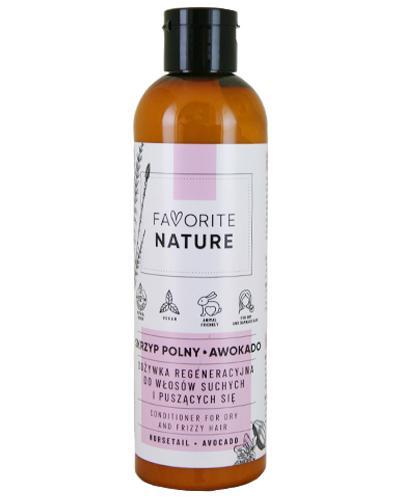 Favorite Nature Odżywka regeneracyjna do włosów suchych i puszących się skrzyp polny i awokado - 250 ml - cena, opinie, wskazania - Drogeria Melissa