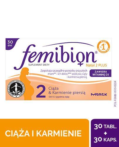 Tabletki Femibion Natal 2 Plus – Apteka internetowa Melissa