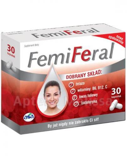 FEMIFERAL - 30 kaps. - Apteka internetowa Melissa