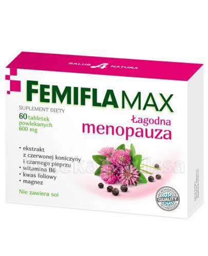 FEMIFLAMAX Łagodna menopauza - 60 tabl. - Apteka internetowa Melissa