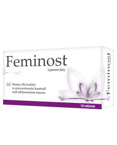 FEMINOST - na nietrzymanie moczu - 56 tabl. - cena, opinie, dawkowanie - Drogeria Melissa