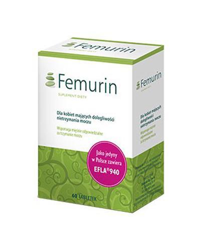 FEMURIN - 60 tabl. - lek na nietrzymanie moczu - cena, opinie, dawkowanie - Drogeria Melissa