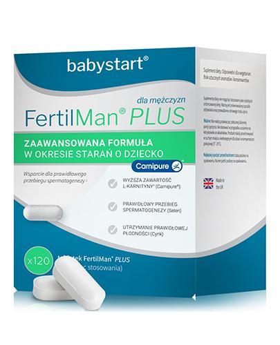 FERTILMAN PLUS - 120 kaps. Wspiera płodność u mężczyzn. - Apteka internetowa Melissa