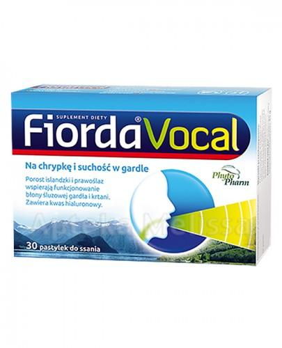 FIORDA VOCAL - 30 past. - Apteka internetowa Melissa
