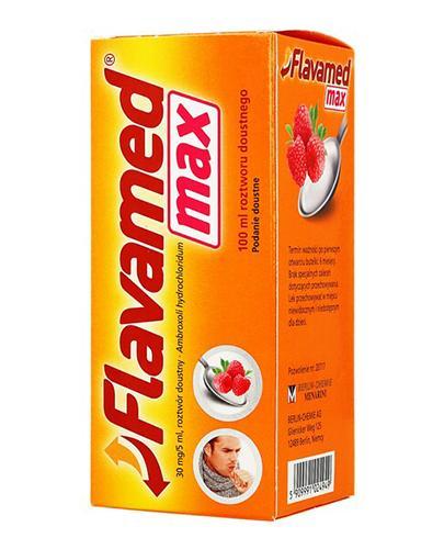 FLAVAMED MAX Syrop 30 mg/5 ml - 100 ml