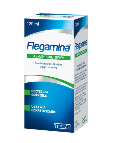 FLEGAMINA Syrop o smaku miętowym 4 mg/5 ml - 120 ml