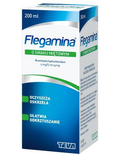 FLEGAMINA Syrop o smaku miętowym 4 mg/5 ml - 200 ml - Apteka internetowa Melissa