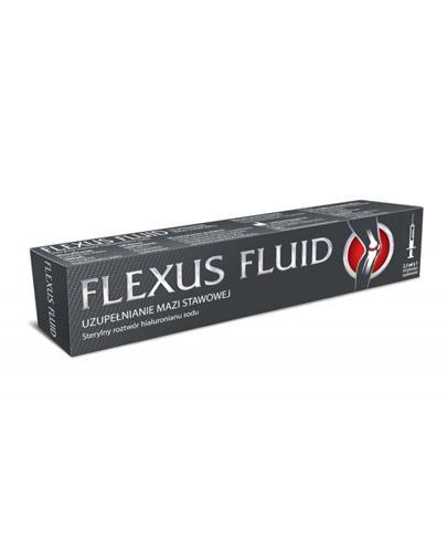 FLEXUS FLUID  Sterylny roztwór hialuronianu sodu - 25 mg (ampułkostrzykawka 2,5 ml) - Drogeria Melissa